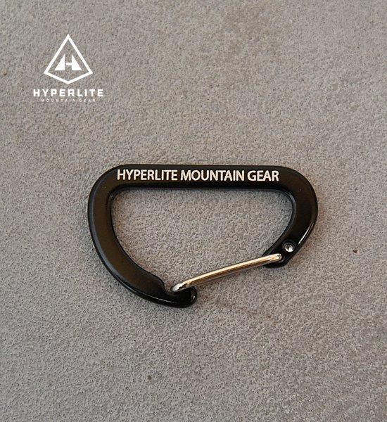 "【Hyperlite Mountain Gear】ハイパーライトマウンテンギア The Flat Micro D Carabiner ""Black"" ※ネコポス可"