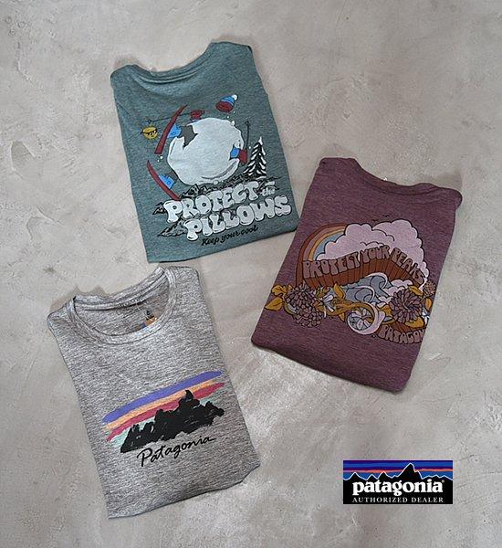【patagonia】パタゴニア women's Long-Sleeved Capilene Cool Daily Grahic Shirt  ※ネコポス可