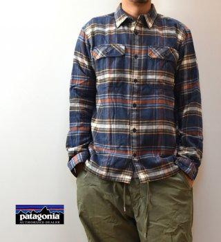 【patagonia】パタゴニア men's L/S Fjord Flannel Shirt