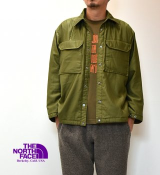 <img class='new_mark_img1' src='https://img.shop-pro.jp/img/new/icons13.gif' style='border:none;display:inline;margin:0px;padding:0px;width:auto;' />【THE NORTH FACE PURPLE LABEL】ノースフェイスパープルレーベル men's Moleskin Insulation C.P.O Jacket