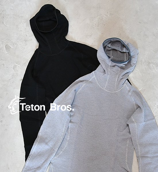 【Teton Bros】ティートンブロス men's MOB Wool Hoody