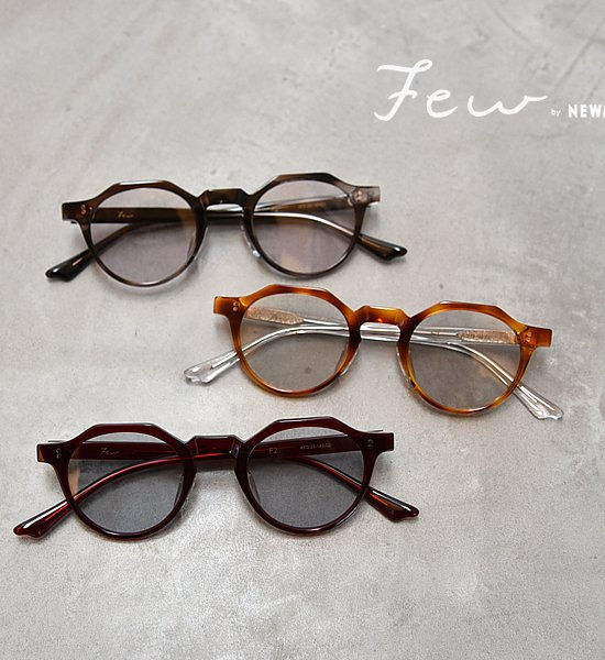 """【Few by NEW.】ヒューバイニュー F2 """"3Color"""""""