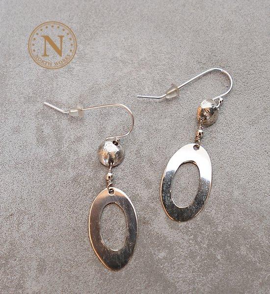 【North Works】ノースワークス Women's Pierced Earrings ※ネコポス可