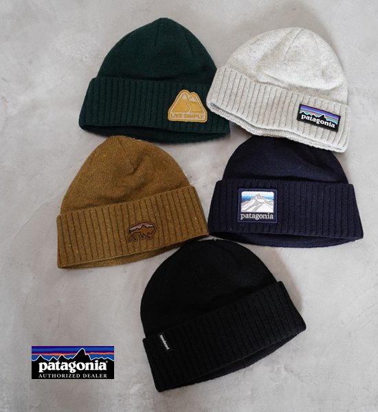 "【patagonia】 パタゴニア Brodeo Beanie ""5Color"" ※ネコポス可"