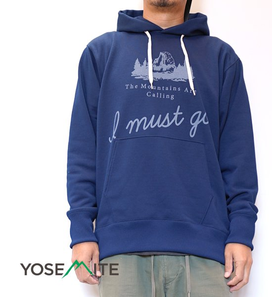 【BRING×Yosemite】ブリング×ヨセミテ unisex I MUST GO DRY Sweat Hooded Pullover