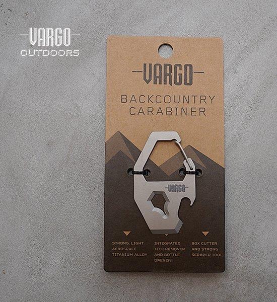 【VARGO】バーゴ Backcountry Carabiner ※ネコポス可