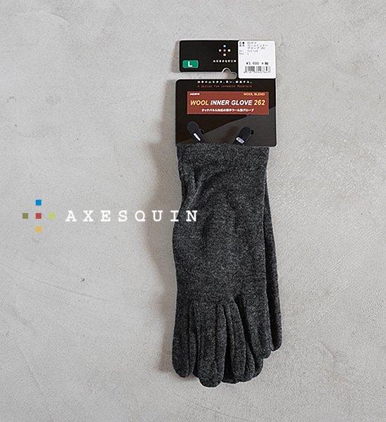 【AXESQUIN】アクシーズクイン Wool Inner Glove 262