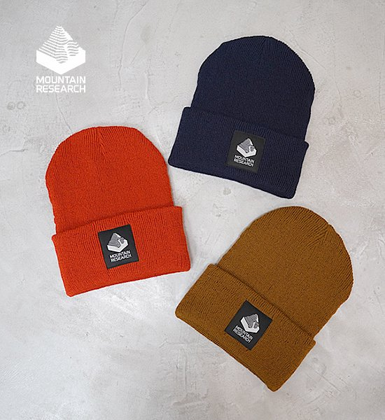 """【Mountain Research】マウンテンリサーチ Logger's Cap """"3Color"""""""