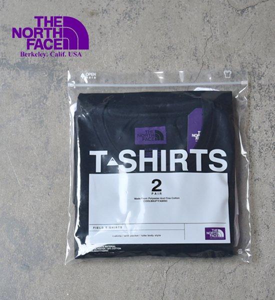 【THE NORTH FACE PURPLE LABEL】ノースフェイスパープルレーベル men's Pack Field Tee