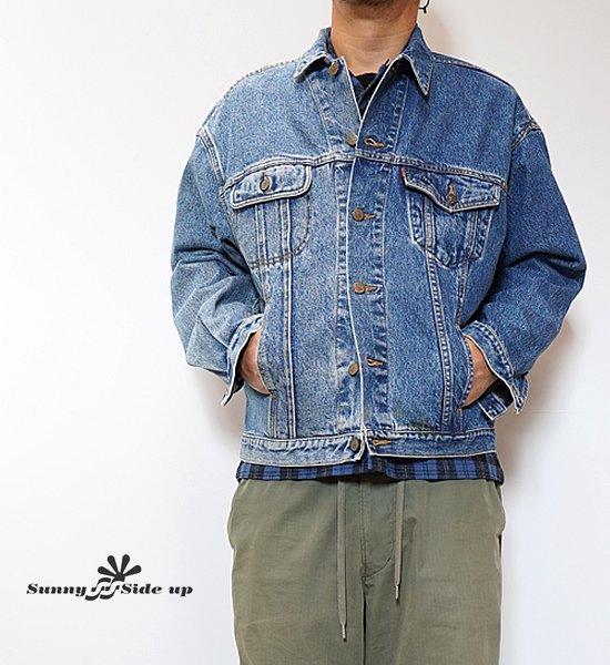 【Sunny side up】サニーサイドアップ 2 For 1 Denim Jacket