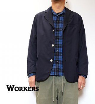 """<img class='new_mark_img1' src='https://img.shop-pro.jp/img/new/icons13.gif' style='border:none;display:inline;margin:0px;padding:0px;width:auto;' />【WORKERS】ワーカーズ Blazer/Sport Coat """"Dark Navy"""""""