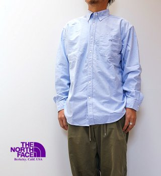 <img class='new_mark_img1' src='https://img.shop-pro.jp/img/new/icons13.gif' style='border:none;display:inline;margin:0px;padding:0px;width:auto;' />【THE NORTH FACE PURPLE LABEL】ノースフェイスパープルレーベル men's Cotton Polyester OX B.D. Shirt