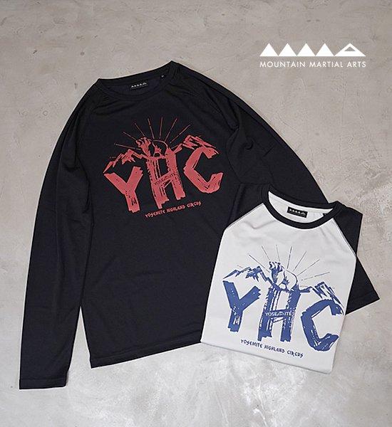 【Mountain Martial Arts】マウンテンマーシャルアーツ men's MMA POLARTEC® Power Dry Gotouchi L/S Tee-YHC