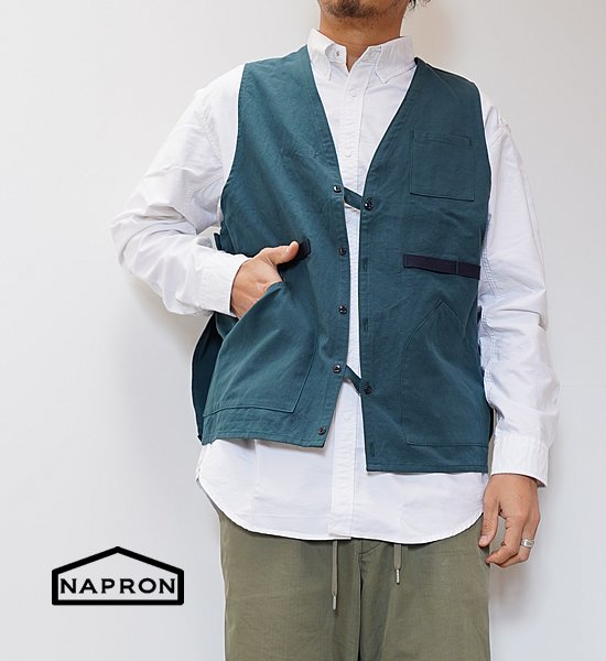 "【NAPRON】ナプロン Unisex Hunting Vest Apron ""3Color"