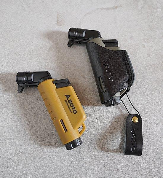 ★数量限定【SOTO】ソト マイクロレギュレーターストーブ Leather Case&Micro Torch