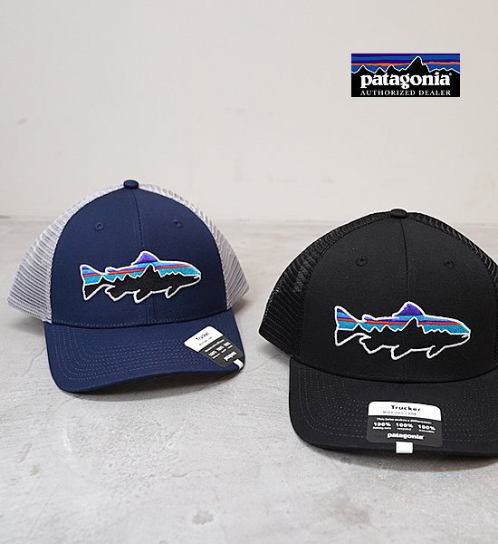 【patagonia】パタゴニア Fitz Roy Trout Trucker Hat