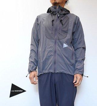 """【and wander】アンドワンダー men's trek jacket 2 """"2Color"""""""