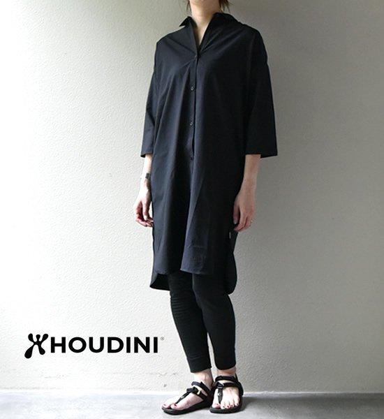 【HOUDINI】フーディニ women's Route Shirt Dress