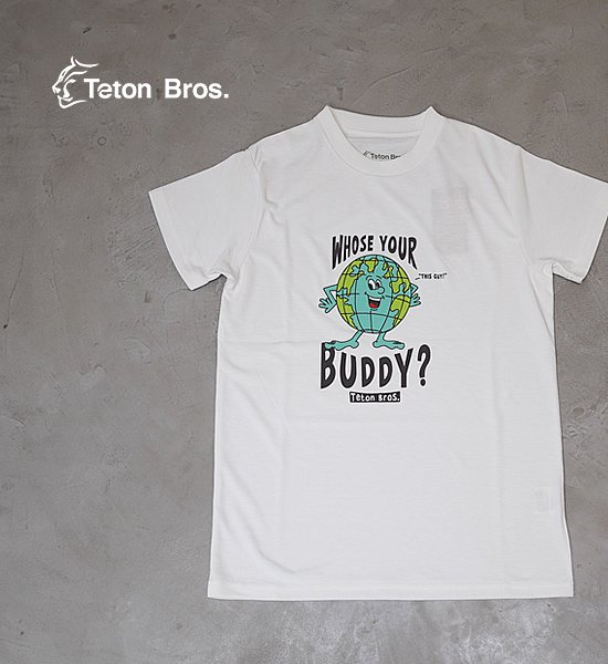 【Teton Bros】ティートンブロス women's TB Whose Your Buddy Tee