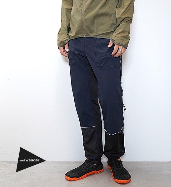 【and wander】アンドワンダー men's trek long pants
