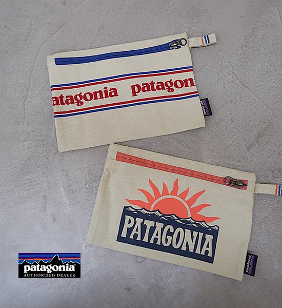 """【patagonia】パタゴニア Zippered Pouch """"2Color"""" ※ネコポス可"""