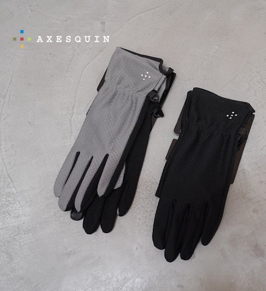 【AXESQUIN】アクシーズクイン women's UV Mesh Glove Long