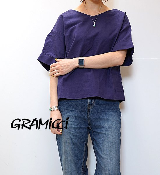 "【GRAMICCI】グラミチ women's Linen 2Way Shirts ""3Color"""