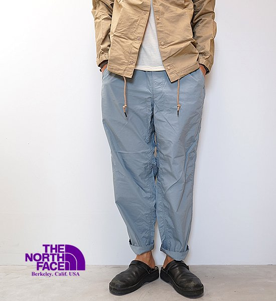 【THE NORTH FACE PURPLE LABEL】ノースフェイスパープルレーベル men's Shirred Waist Pants