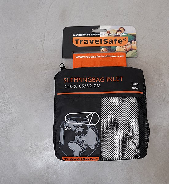 【Travel Safe】トラベルセーフ Sleeping Bag Inlet Silk