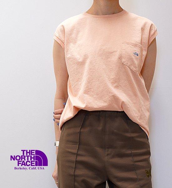 【THE NORTH FACE PURPLE LABEL】ノースフェイスパープルレーベル women's 7oz N/S Pocket Tee