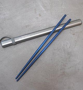 【Toni Fabrioli】Stout Titanium Chopsticks Kit