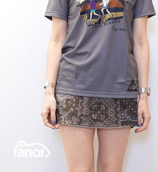 【ranor】ラナー Bandana Skirt