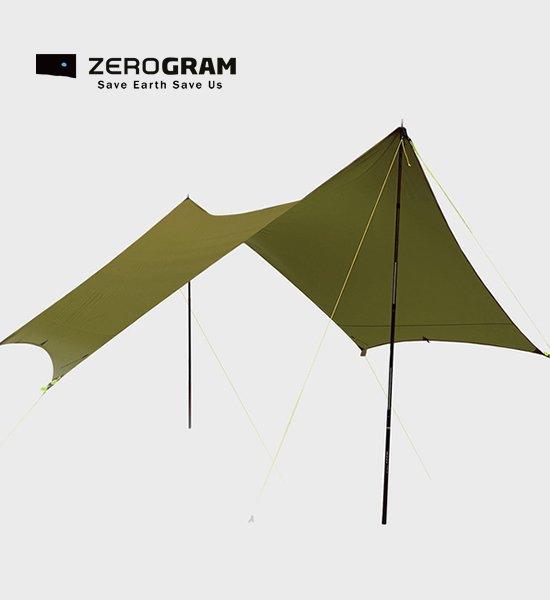 【ZEROGRAM】ゼログラム Minimalist Hexa tarp21