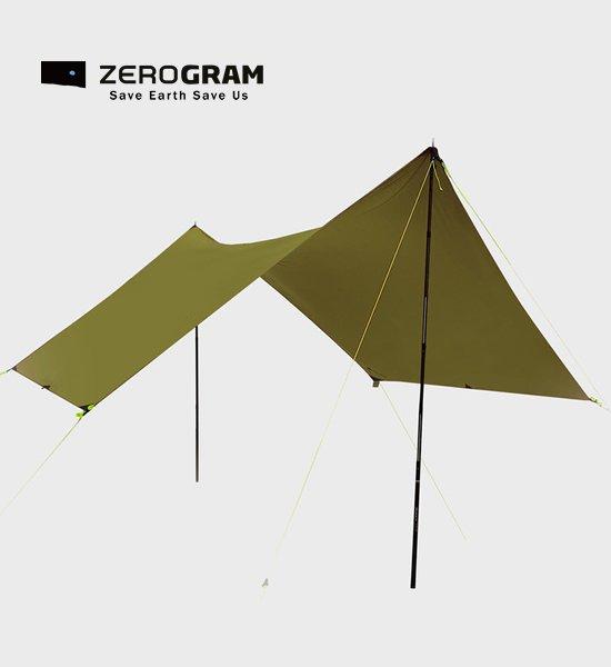 【ZEROGRAM】ゼログラム Minimalist Recta tarp21