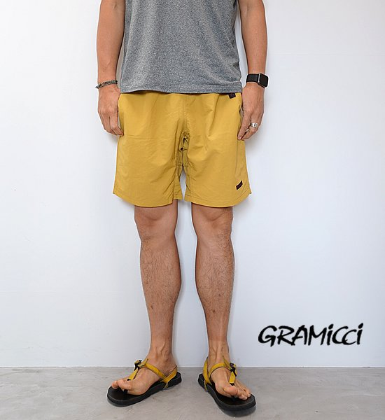 """【GRAMICCI】グラミチ unisex Shell Packable Shorts """"5Color"""""""