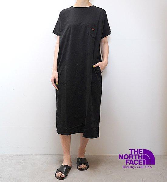 【THE NORTH FACE PURPLE LABEL】ノースフェイスパープルレーベル women's 5.5oz H/S Crew Neck Dress