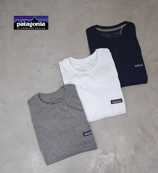 【patagonia】パタゴニア men's P-6 Label Pocket Responsibili-Tee