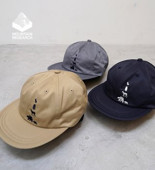 """【Mountain Research】マウンテンリサーチ Animal Cap """"3Color"""""""