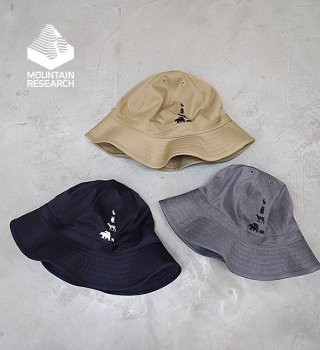 """【Mountain Research】マウンテンリサーチ Animal Hat """"3Color"""""""