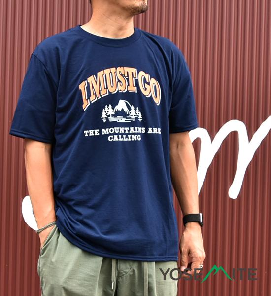 【BRING×Yosemite】ブリング×ヨセミテ unisex I MUST GO T-Shirt