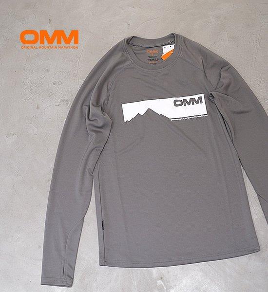【OMM】オリジナルマウンテンマラソン Bearing Tee L/S