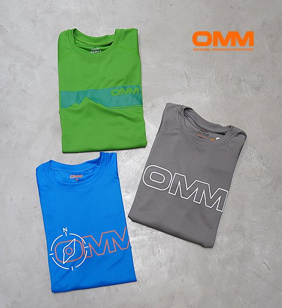 【OMM】オリジナルマウンテンマラソン Bearing Tee S/S