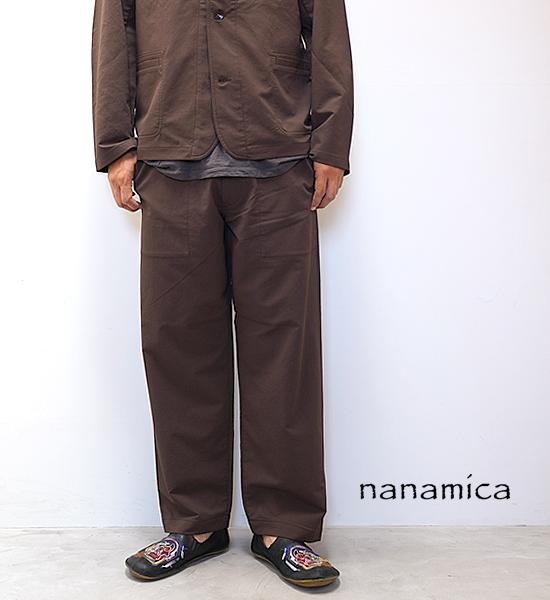 【nanamica】ナナミカ men's ALPHADRY Wide Easy Pants