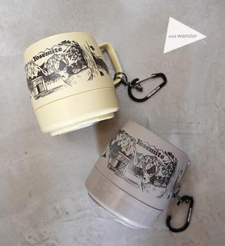 【and wander x Yosemite x DINEX】アンドワンダー x ヨセミテ x ダイネックス  Printed Mug
