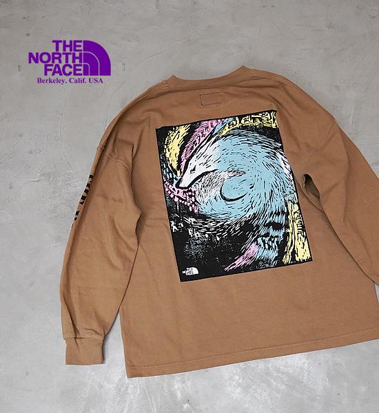 【THE NORTH FACE PURPLE LABEL】ノースフェイスパープルレーベル men's 8oz L/S Graphic Tee
