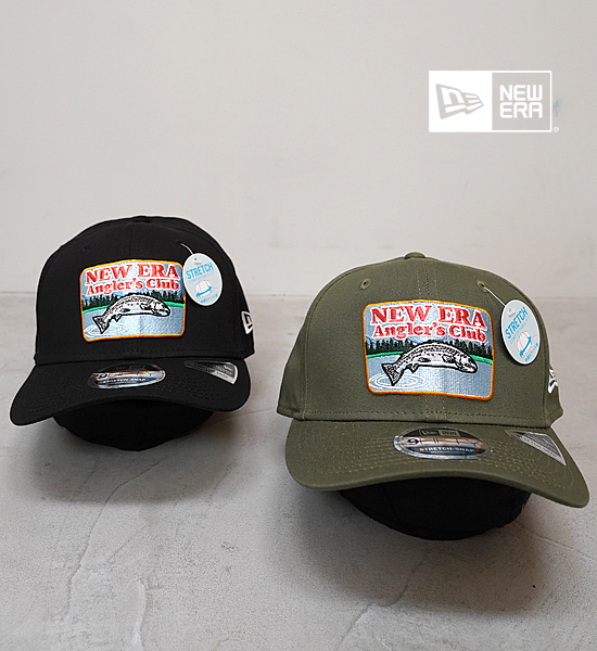 【NEW ERA OUTDOOR】ニューエラアウトドア 9Fifty Stretch Snap Anglre's Club Trout