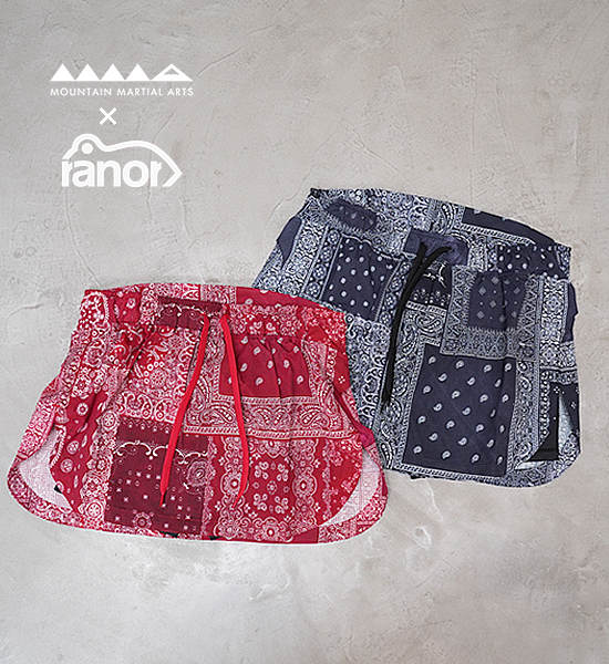 【Mountain Martial Arts】マウンテンマーシャルアーツ women's MMA×Ranor Air Light Side Slit Skirt