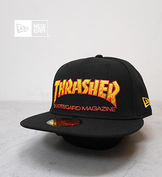 """【NEW ERA】ニューエラ 59Fifty Thrasher Magazine Logo """"Black"""""""