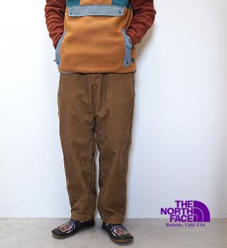【THE NORTH FACE PURPLE LABEL】ノースフェイスパープルレーベル men's Corduroy Wide Tapered Pants