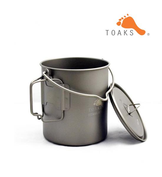 【TOAKS】トークス Titanium 750ml With Bail Handle